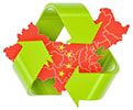 China recycle (map)