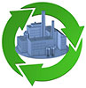clear factory recycling