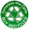Complete the Cycle BUY RECYCLED (US)