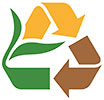 compost recycling (logo, Charlottesville, US)