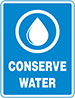 CONSERVE WATER (LEED_sign)