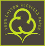 cotton recycled papers (PSP logo, IN)