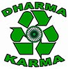 dharma karma (zazzle badge)