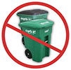don't trash recyclables (US)