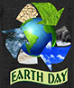 EARTH DAY (recycling promo, T-shirt)