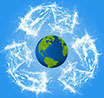Earth-sphere recycling