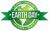 EARTH DAY 22 APRIL EARTH DAY (off. seal)