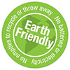Earth Friendly - No empties to recycle or throw away 