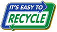 IT'S EASY TO RECYCLE (highway-sign-like, US)