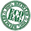 ECO BAG 100% RECYCLED (stamp)
