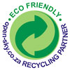 ECO FRIENDLY open-sky.co.za RECYCLING PARTNER (green-dot adaptation)