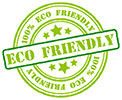100% ECO FRIENDLY (stamp)