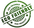 ECO FRIENDLY (3x, stamp style)