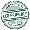 ECO FRIENDLY (3x, stock stamp)