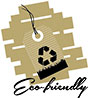 Eco friendly (cardboard, tab)