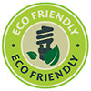 ECO FRIENDLY - natural materials (stamp)