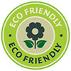 ECO FRIENDLY - energy saving (stamp)