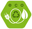eco (green recycled power)