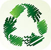 ECO (hands) GO GREEN (DS ico)