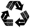 electronic scraps recycling