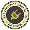 ELECTRONICS RECYCLING - GO FREEN (seal)