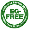 EG-FREE - Contains no Ethylene Glycol        or other Toxic Air Contaminants