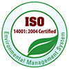 ISO 14001:2004 Certified - Environmental Management System