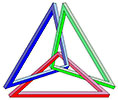 fantasy interlaced triangles