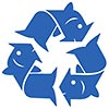 fish recycling (project logo)