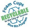 Foam Cups RECYCLABLE (CA)