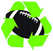 football recycling