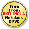 Free From BISPHENOL-A Phthalates & PVC