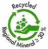 GBR Recycled Regional Mineral min. 30%