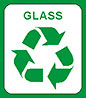 glass recycling bin mark (UK)