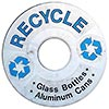 RECYCLE - Glass Bottles - Aluminium Cans (bin, US)