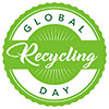 GLOBAL RECYCLING DAY (stock seal)