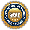 GMP CERTIFIED (gold seal)