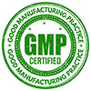 GMP CERTIFIED (stock stamp)