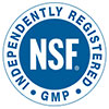 GMP NSF INDEPENDENTLY REGISTERED