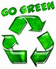 GO GREEN (recycling promo)
