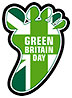 GREEN BRITAIN DAY (green UnionJack footprint)