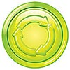 Green Eco (recycling/house, Dreamstime stock)