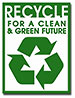 RECYCLE FOR A CLEAN & GREEN FUTURE