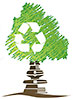 green tree recycle (stock graph)