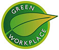 GREEN WORKPLACE (decal)
