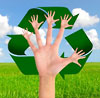 hands-up recycling