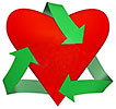 heart quick recycling