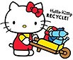 Hello Kitty RECYCLE!