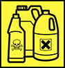 household and garden chemicals (warning)