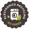 [home] ELECTRONICS RECYCLING - GO GREEN (seal)